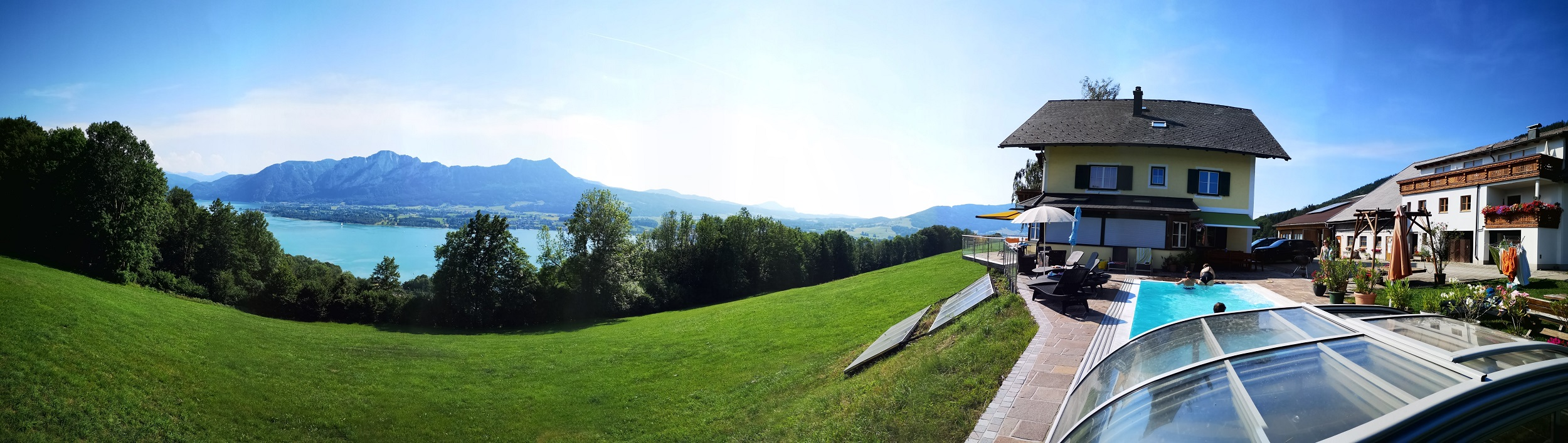 Panorma Mondseeberg Bauernhof ferienhof-gassner web1